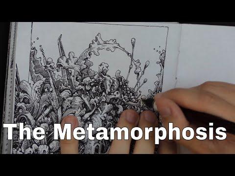 The Metamorphosis ~ Franz Kafka (audiobook and drawing)