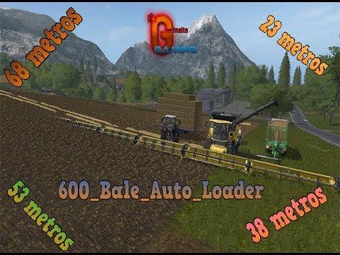 FS17 NH 600 Bale Auto Loader v1.0