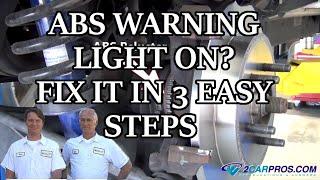8. ABS WARNING LIGHT ON? FIX IT IN 3 EASY STEPS