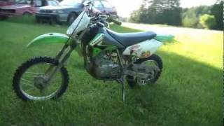 10. 2003 Kawasaki KLX 125 - Walk Around