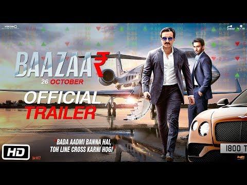 Baazaar - Official Trailer | Saif Ali Khan, Rohan Mehra, Radhika A, Chitrangda S | Gauravv K Chawla