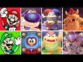 Super Mario 3D World - All Boss Fights (Complete Boss Compilation)