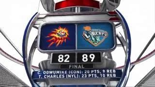 WNBA Recap: CON@NYL by WNBA