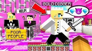 GOLD DIGGER Had POOR PEOPLE Trapped in the GIRLS ONLY Restaurant.. I Found Them and DID This..