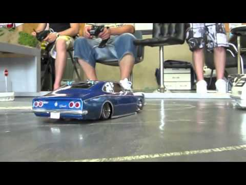 RC Drift Opala SS Caravan SS In Japan Part 2