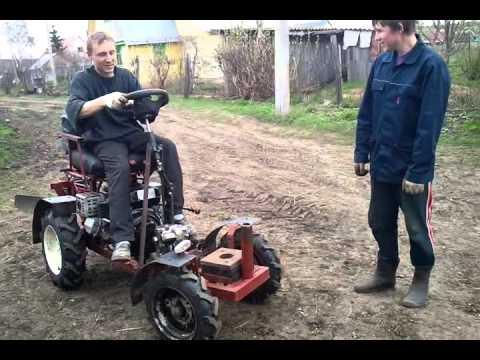 Трактор из мотоблока агро своими руками видео