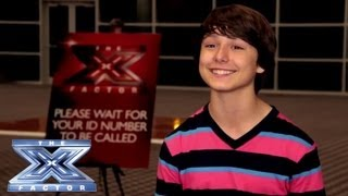 Yes, I Made It! Stone Martin - THE X FACTOR USA 2013