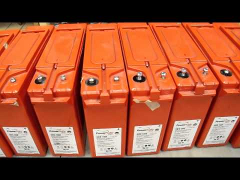 Battery - This video series shows the progression of how I acquired and reconditioned a 1000 Amp Hour Battery Bank for use in my home power backup application. Here ar...