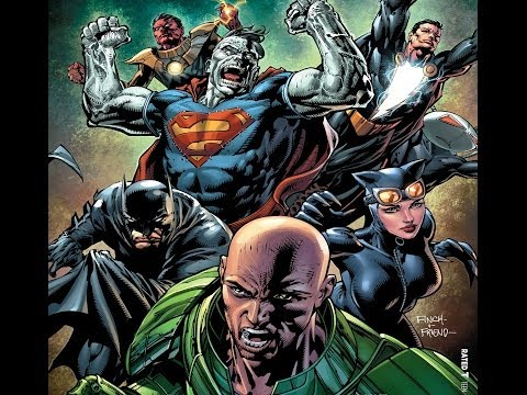 0 Comic Book Review: Forever Evil #5