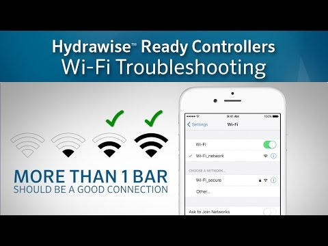 Hydrawise Wi-Fi Troubleshooting