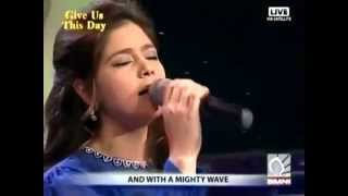 Download Lagu Mighty Wave - Cover by Stephanie Ibarra | Kingdom Music | Give Us This Day | SMNI Mp3