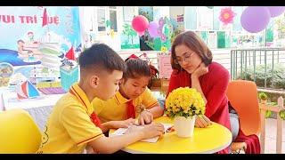"""Trường Tiểu học Trần Phú: Sôi nổi Ngày hội văn hóa đọc """"Sách - niềm vui trí tuệ"""""""