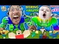 Download Video STRONGEST ROBLOXIAN EVER! FGTEEV ROBLOX Boxing Simulator #33 GIANT CHEATING 1 PUNCH DUDDY Wrestling