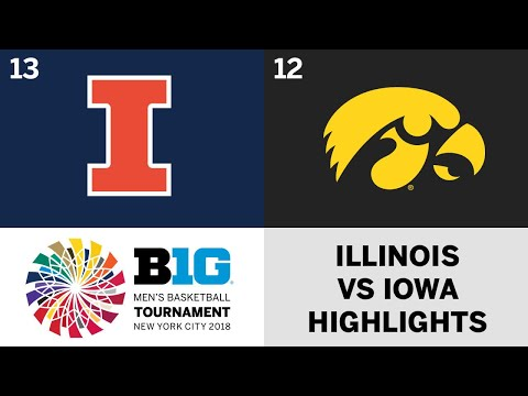 2018 Big Ten Men's Basketball Tournament: Iowa vs. Illinois