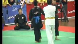 Funny Pencak Silat - Indonesia Vs Thailand