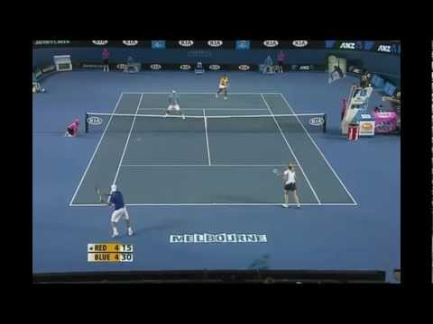 Top 15 Funny Tennis points for 2011 -2015