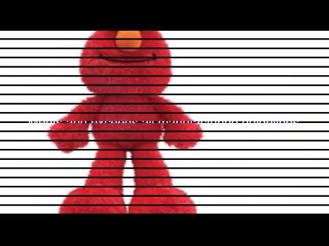 Video Video ad on the Sesame Street Elmo Floppy Body Style