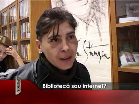 Bibliotecă sau internet?
