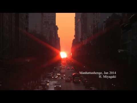 0 Manhattanhenge 2016, pour vivre un spectaculaire coucher de soleil à New York