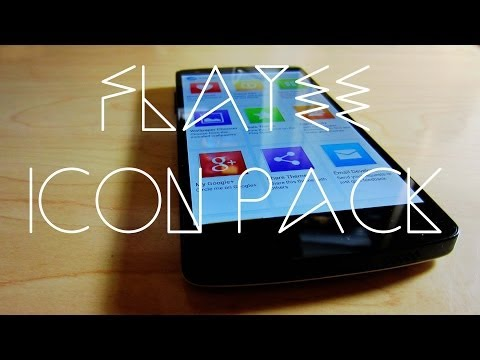 Video of Flatee - Icon Pack