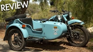 5. Ural 2WD Sidecar Motorcycle - MotoGeo Review