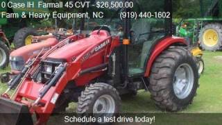 10. 0 Case IH  Farmall 45 CVT  for sale in Farm and Heavy Equipm