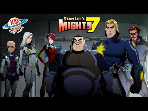 Lord Xanar's Secret Agenda   Stan Lee's Mighty 7 I Season 2 Episode 6 Kid Genius Cartoons