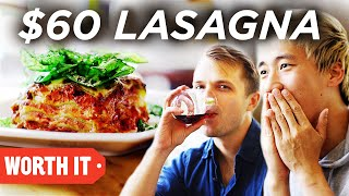 Video $13 Lasagna Vs. $60 Lasagna MP3, 3GP, MP4, WEBM, AVI, FLV Agustus 2019