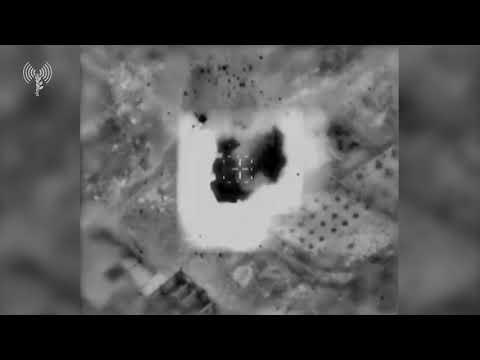 Tsahal attaque des lance-roquettes a gaza