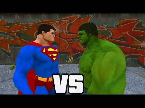 Hulk - Superman enfrenta o Hulk em uma batalha épica de força e destruição total. Quem vencerá? Obrigado por assistir. Página no Facebook: https://www.facebook.com/...