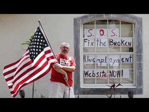 «Kαλπάζει» η ανεργία στις Ηνωμένες Πολιτείες