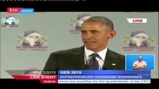 US President Barack Obama speaks Kiswahili during Global Entrepreneurship Summit. Watch KTN Live http://www.ktnkenya.tv/live Follow us on ...
