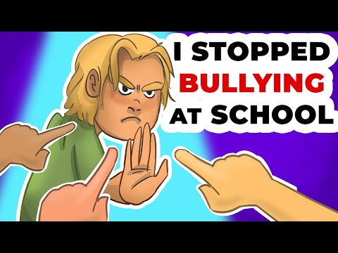 I Stopped Bullying at School | My Animated Story about School Life