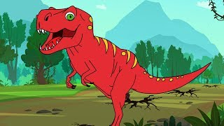 T-rex (Tyrannosaurus Rex Dinosaur) song I Kid & family friendly Dinosaurs Songs by Fun For Kids TV