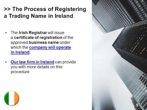 How to Register a Company in Ireland