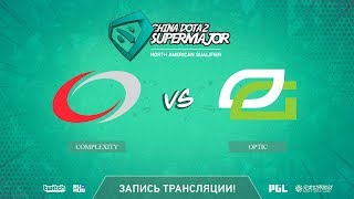 compLexity vs OpTic, China Super Major NA Qual, game 1 [LighTofHeaveN]