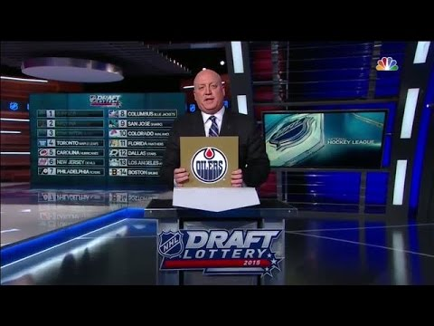 Video: Oilers earn the first overall selection