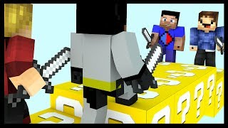 Minecraft LUCKY BLOCK Bridges with Vikkstar, Woofless, xRpM & CraftBattleDuty