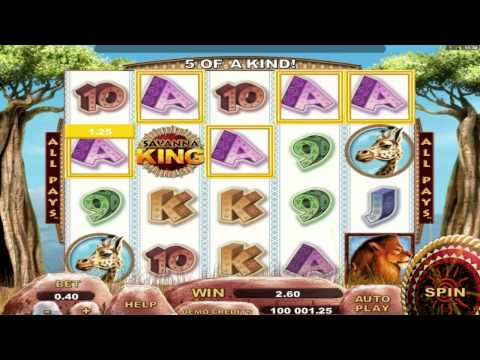 Savanna King™ online slot by Genesis Gaming video preview