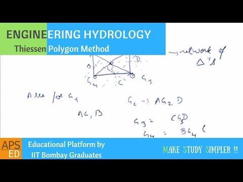 Thiessen Polygon Method | Engineering Hydrology