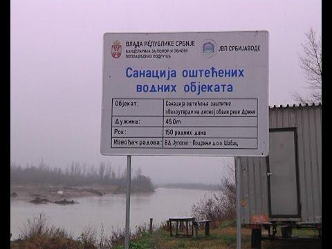 Zapo�eti radovi na izgradnji obaloutvrde na Drini u Badovincima