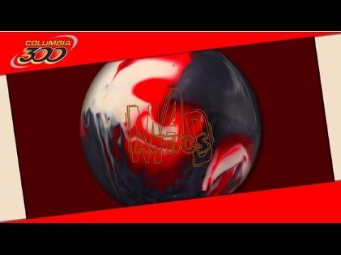 Columbia 300 Mad Antics Bowling Ball Reaction Video