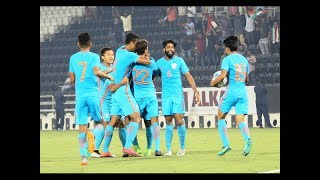 INDIA 3-1 TURKMENISTAN Highlights of the AFC U23 CHAMPIONSHIP 2018 Qualifiers match between India and Turkmenistan...