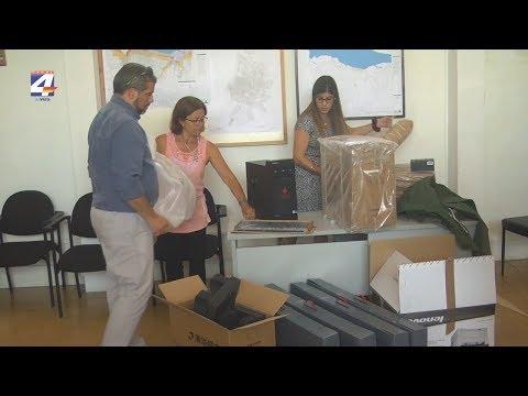 Sinae entregó al Cecoed de Paysandú material donado por el gobierno de China