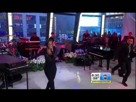 Alicia Keys - New Day, Girl on Fire (Good Morning America)