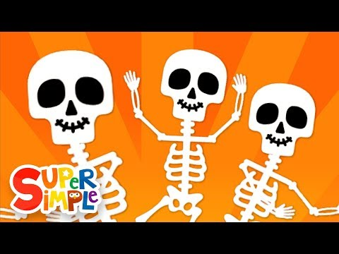 The Skeleton Dance | Halloween Song for Kids | Super Simple Songs