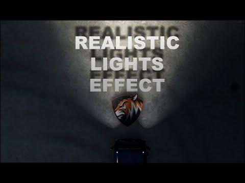 [ETS2] Realistic Lights Effect v1.0.0.0