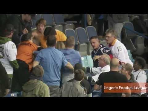 What! A Brawl at a Lingerie Football League Game