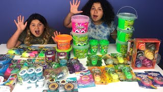Video MIXING ALL OUR STORE BOUGHT SLIMES - NEW SLIMES PART 1 - GIANT SLIME SMOOTHIE MP3, 3GP, MP4, WEBM, AVI, FLV Juli 2018