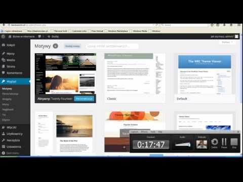 WordPress kurs video cz 1